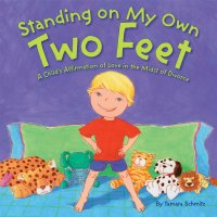 Standing on my own two feet book about divorce for preschoolers