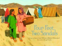 Four fee two sandals book