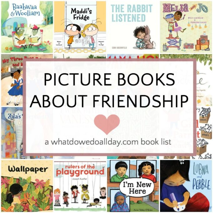 List of picture books about friendship