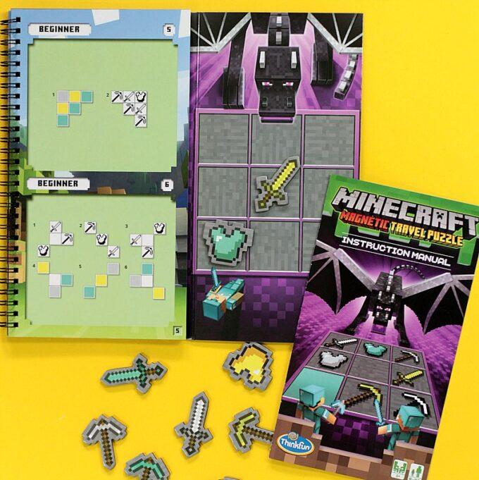 Minecraft puzzle game