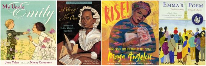 Biographies about women poets
