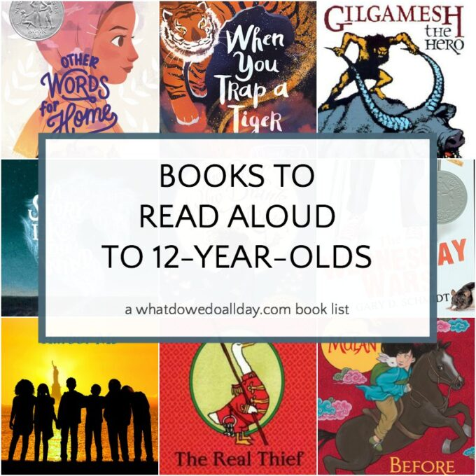Good books to read aloud to 12 year olds
