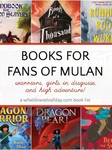 Children's books like Mulan