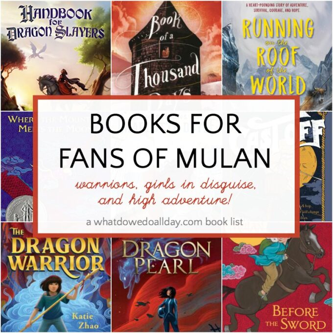 Children's books like Mulan