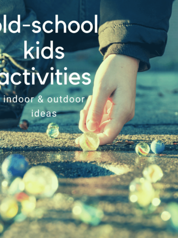 Old-fashioned games for kids