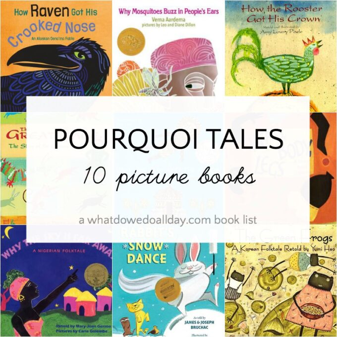 Pourquoi tales picture books for children