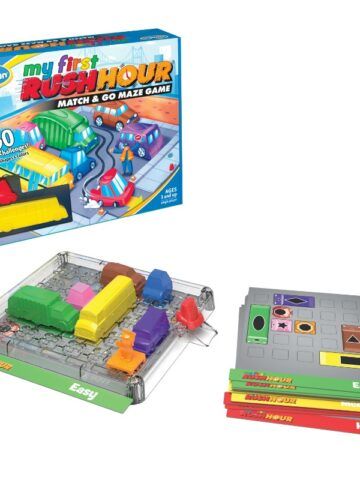 My first rush hour game for preschoolers