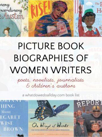 Children's biographies of women writers