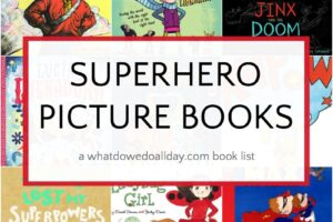 Superhero picture books