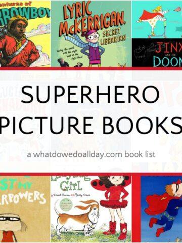 Superhero picture books