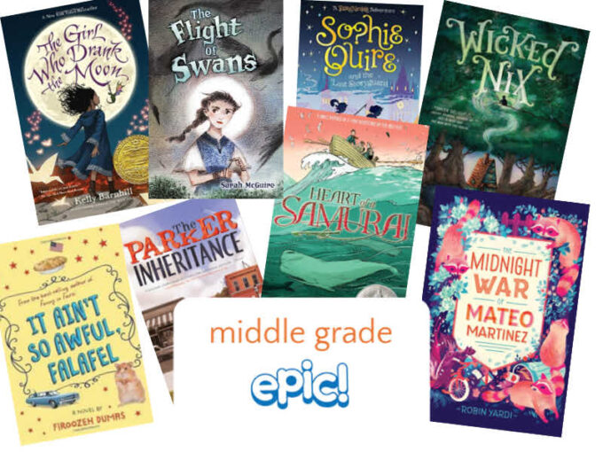 8 middle grade books available on epic app