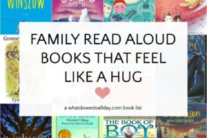 Heartwarming read aloud books
