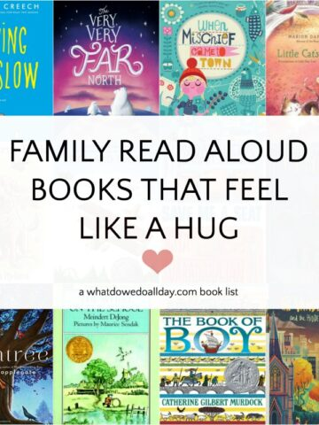 Heartwarming read aloud books