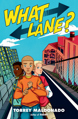 What Lane book cover showing three boys on a city street