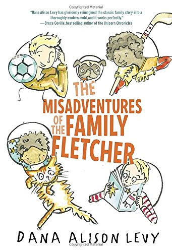 book cover the misadventures of the family fletcher