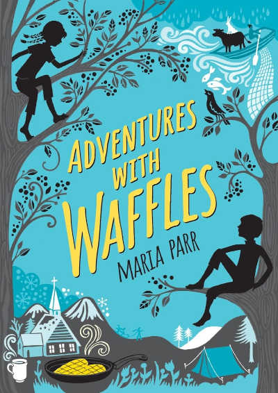 Book cover for Maria Parr's Adventures with Waffles book