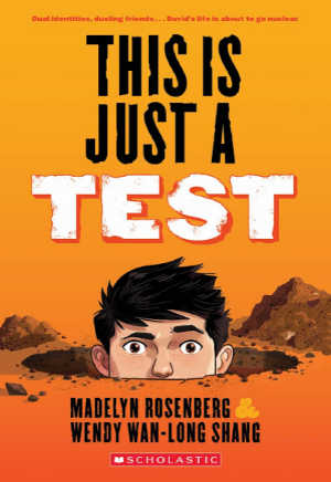 this is just a test book cover