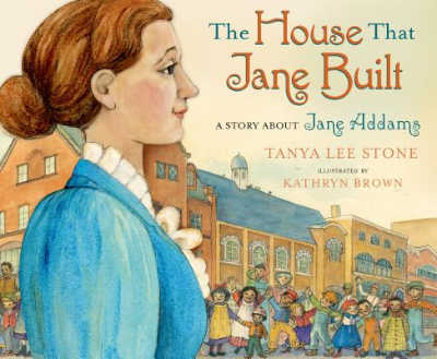 the house that jane built picture book cover