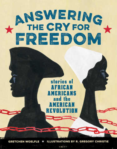 answering the cry for freedom book cover with black woman and black man facing away from each other