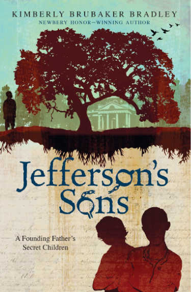 jefferson's sons book cover showing tree, house and three people