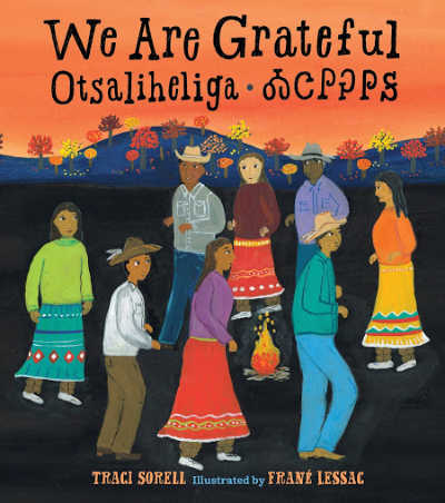 book cover featuring diverse native american peoples