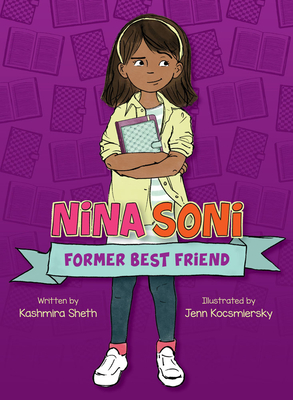 nina soni book cover. girl on purple background