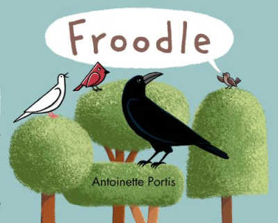 froodle book about nonsense words showing birds on trees
