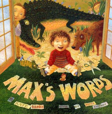 max's words book cover