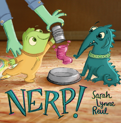 Nerp book cover with two imaginative creatures