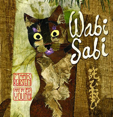 wabi sabi book cover showing cat