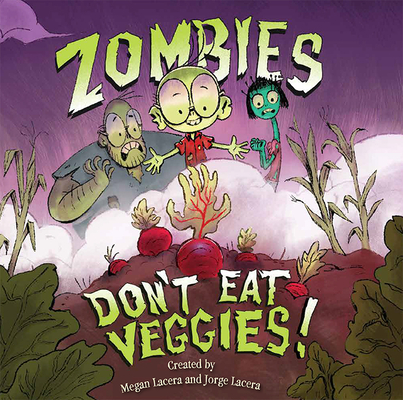 zombie's don't eat veggies book cover