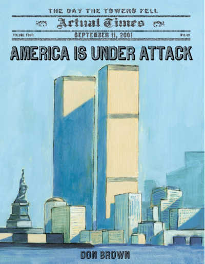 america is under attack book cover about 9/11
