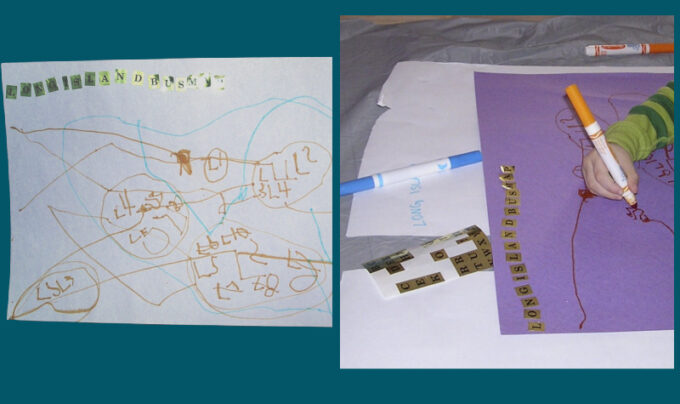 child made transportation map