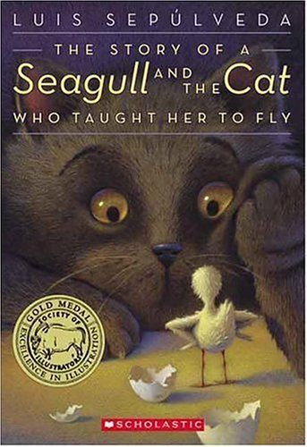 The Story of a Seagull and the Cat Who Taught Her to Fly  book cover
