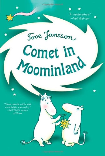 comet in moominland book cover