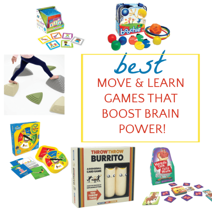 collage of children's move and learn games