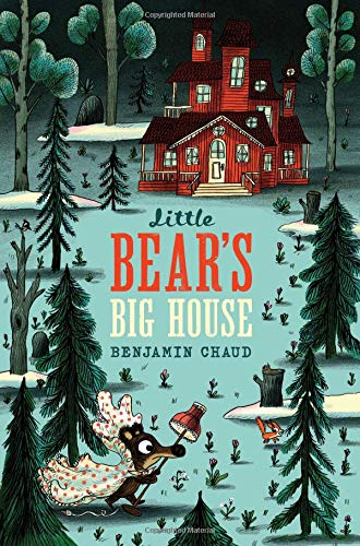 little bear's big house book cover