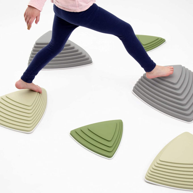 indoor stepping stones game