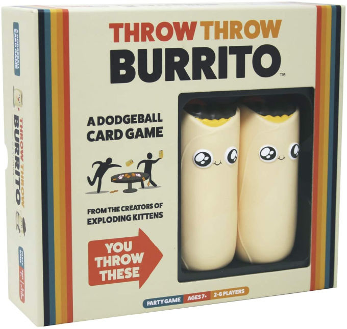 throw throw burrito game box