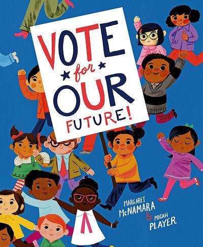 vote for our future book cover