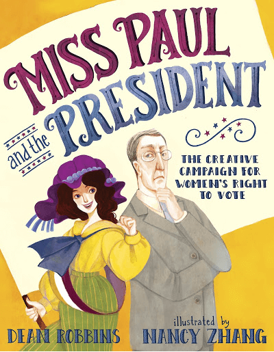 miss paul and the president book cover