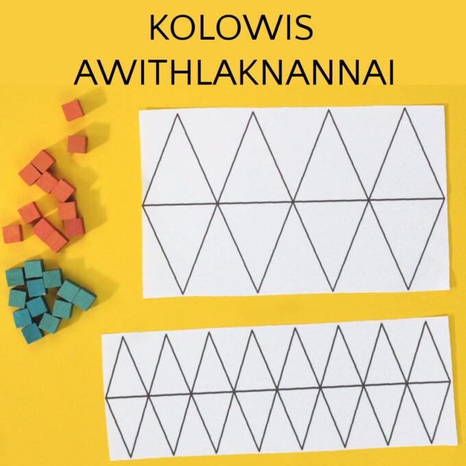 kolowis awithlaknannai game boards in two sizes