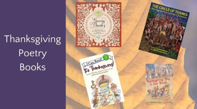 Thanksgiving poetry book covers