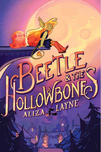 Beetle and the Hollowbones book cover