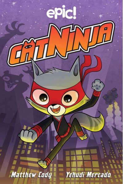 cat ninja book cover