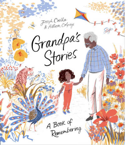 grandpa's stories book cover
