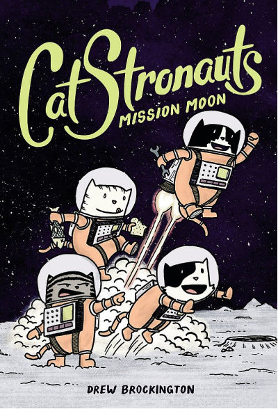 catstronauts graphic novel book cover
