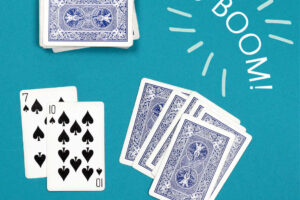 go boom card game pair of spades