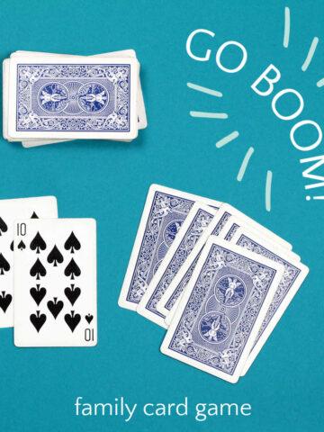 go boom card game pair of spades