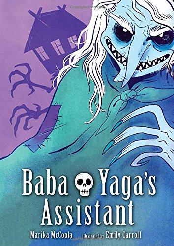 baba yaga graphic novel book cover